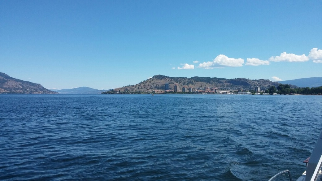 2014 Kelowna from lake