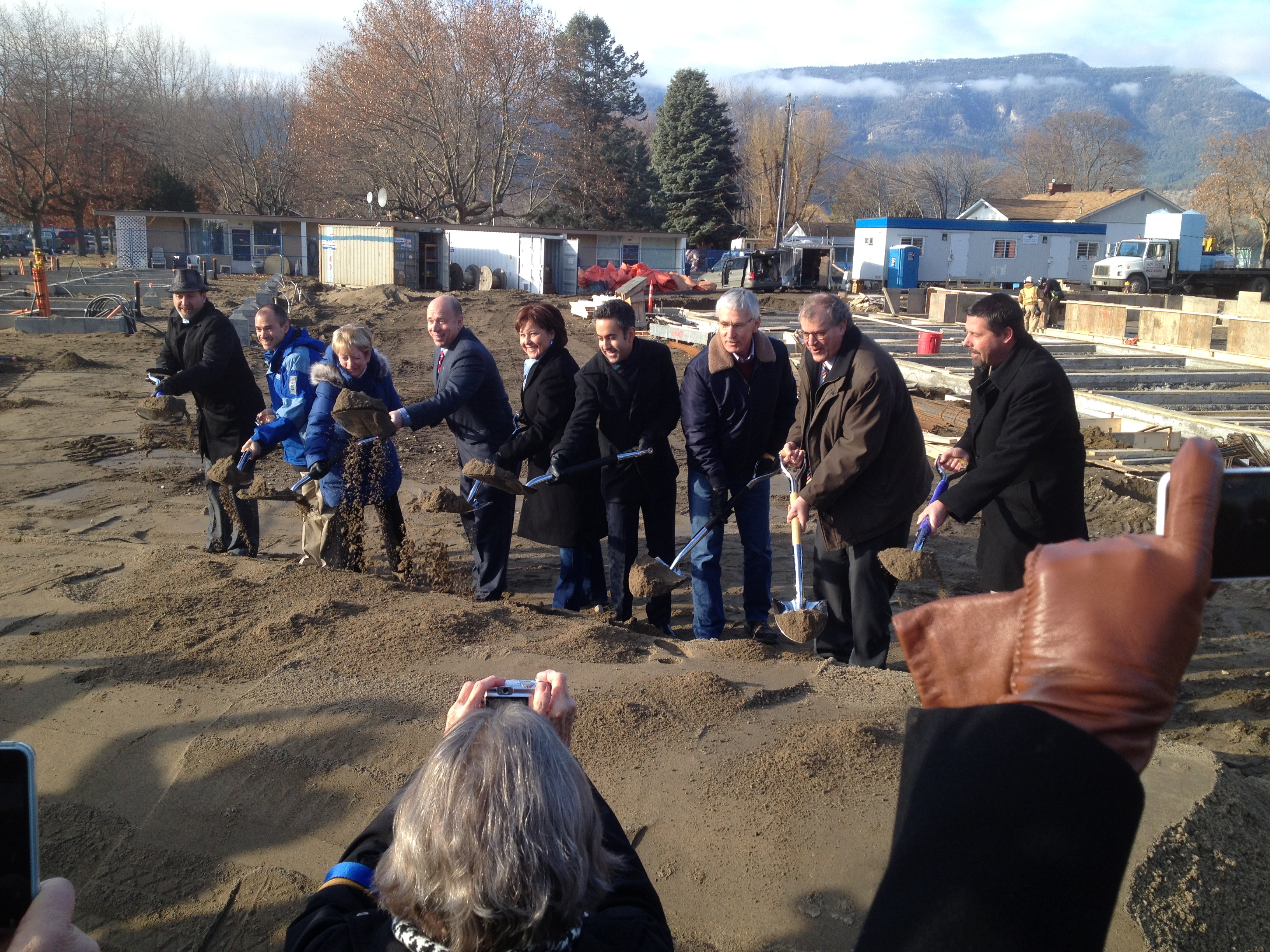 Pleasantvale Sod Turning