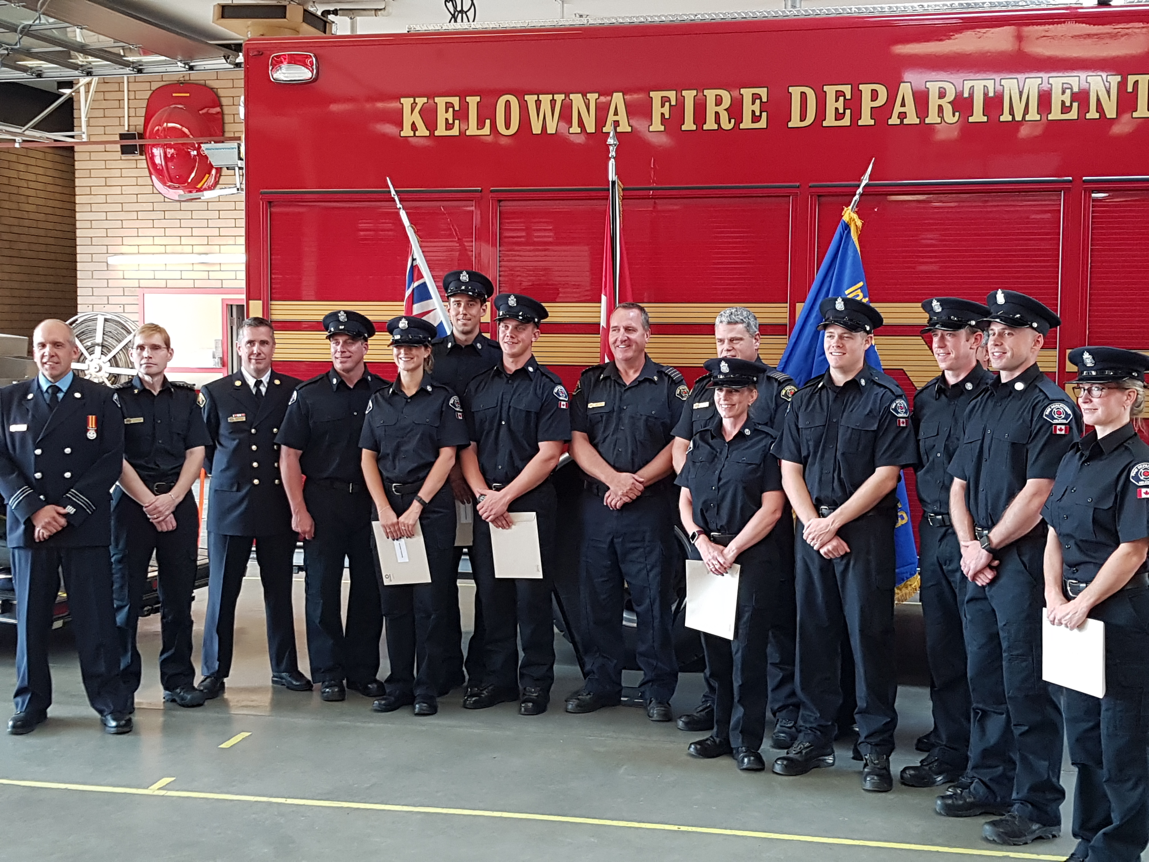 Kelowna Fire Department Graduation